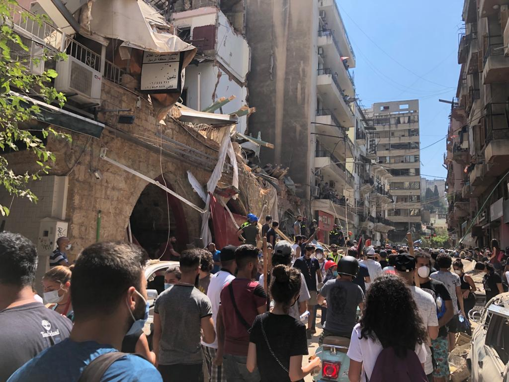 Beirut in Crisis