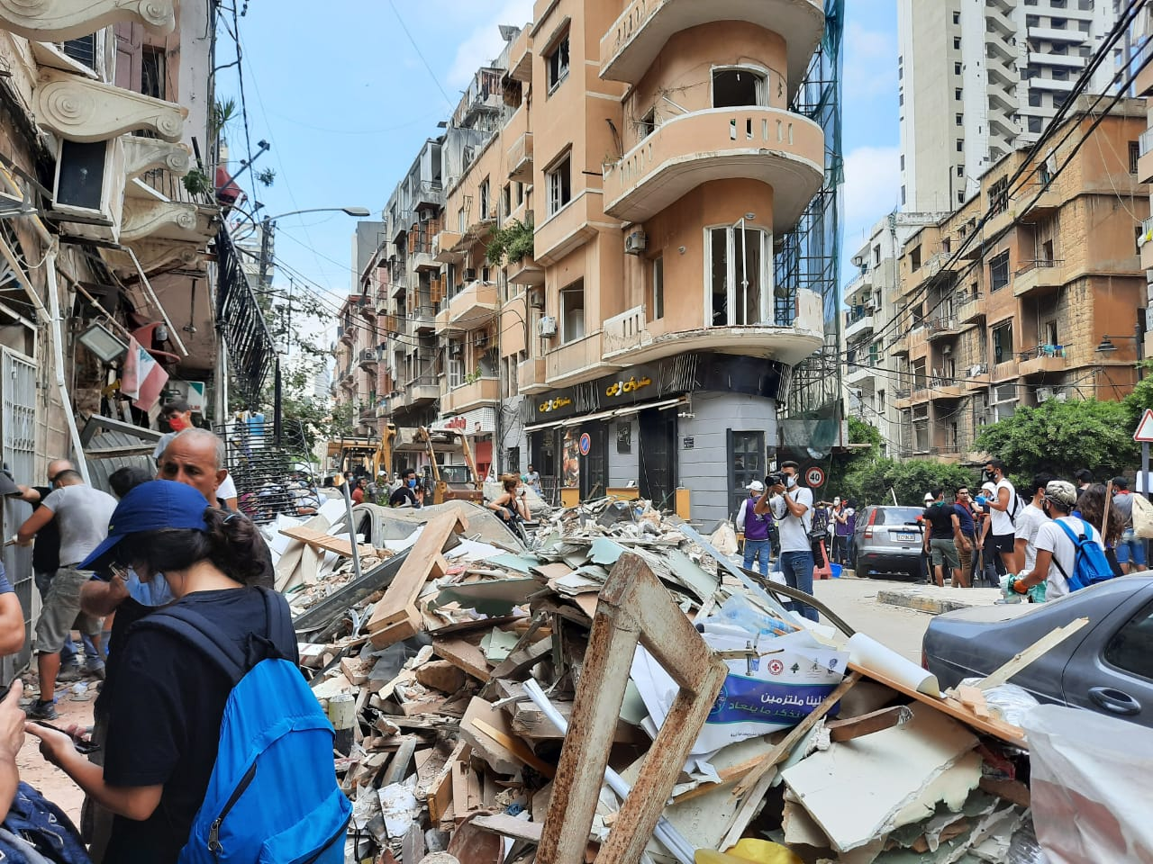 Beirut Relief Buildings 4